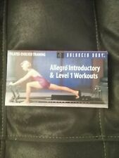 ALLEGRO INTRODUCTORY Level 1 Workouts VHS fitness Pilates Training