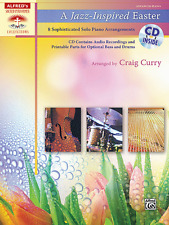 """A JAZZ-INSPIRED EASTER"" ADVANCED PIANO SOLO MUSIC BOOK/CD-BRAND NEW ON SALE!!"