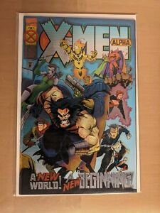 1994 X-MEN ALPHA # 1 WITH CHROME WRAP AROUND COVER (NM-) more for-sale.