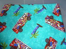 VW T2, bay, split screen  Camper van camper vans, palm trees  curtains (lined)
