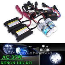 AC 35W Xenon HID Headlight Conversion Beam Bulb KIT H8 H9 H11 10K Light Blue PL