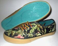 11099eeafef9 MENS AMERICAN EAGLE FLORAL TROPICAL LACE UP CASUAL SNEAKERS SHOES SIZE 8