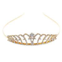 Vintage Wedding Bridal Crystal Rhinestone Headband Crown Hair Accessories Tiara
