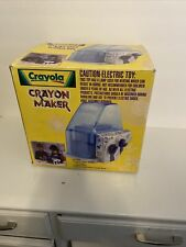 New Crayola 2002 Electric Crayon Maker Swirl 04-9020-0-600 Missing Mold