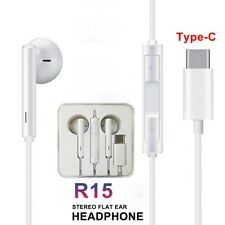 TYPE-C EARPHONES SEREO WIRED HEADPHONES WITH MIC FOR HUAWEI P20/30 PRO MATE30PRO