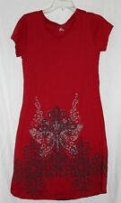 ROPER WOMEN'S WESTERN RED BROWN GRAY SUMMER CROSS WEAR WITH BOOTS DRESS SMALL!