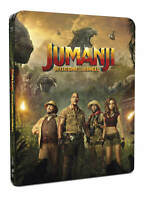 Jumanji: Welcome To The Jungle - Blu Ray (Includes 2D Version) Steelbox