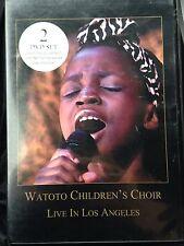 Watoto Children's Choir:  Live in Los Angeles: 2 DVD Set