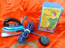 Vtg old Russian USSR  miniature electric Iron 127-220v 1966