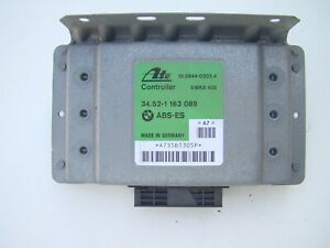 BMW E36 Z3 ABS-ES  Steuergerät 34.52-1 163089 5KW8 405 ATE Controller