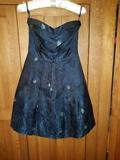 Bnwt Warehouse Spotlight ladies dress /Prom dress peacock teal size 6 RRP £90