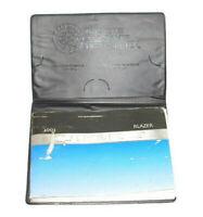 2003 Chevrolet Blazer Factory Original Owners Manual Portfolio #10