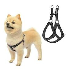 New listing Pull Dog Harness Reflective Adjustable Basic Nylon Step in Puppy Vest Size S