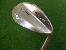 USED RH MIZUNO MP R-12 BLACK NICKEL 56.10 SAND WEDGE EXSAR STIFF FLEX SHAFT