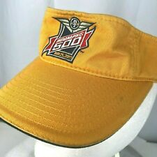 Indianapolis Indy 500 Car Race 2003 Head Visor Sun Cap Orange Adjustable OSFM