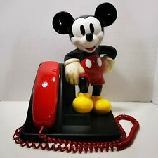 Vintage Disney Mickey Mouse Telephone AT&T Designline Phone 1990's Landlane