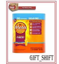 Metamucil Fiber Supplement Orange Sugar Free 260 Servings Powder