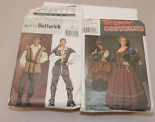 Period Costume Sewing Pattern Renaissance Fair Simplicity 8249 Andrea Schewe