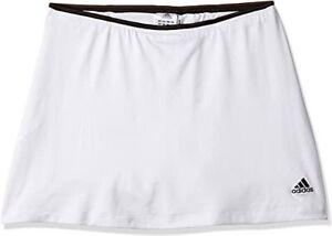 ADIDAS White Black Stripe Tennis Mini Skirt Bike Shorts S