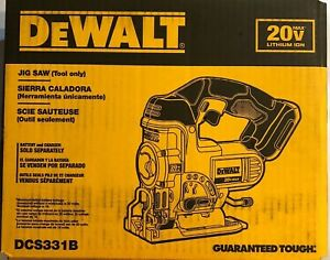 Dewalt DCS331B 20 volt max Cordless Jig Saw Bare tool New in the box 2 DAY SHIP
