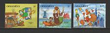Anguilla 3 timbres neufs Walt Disney Donald Pinochio /T3063
