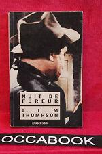 Nuit de fureur - Jim Thompson - Rivage/Noir