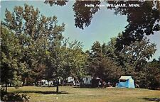 Willmar Minnesota~Tent Camping~Picnic Table~Truck Camper~1960s Station Wagon~PC