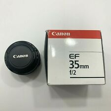Canon EF 35mm f/2 EF Lens Pre Owned  UPC 082966212710