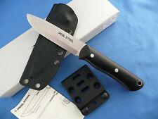 Real Steel Bushcraft II Knife Black G-10 D2 Tool Steel Kydex Sheath 3711