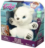 FurReal Friends Snifflin Sawyer Pet Bear Plush White Ages 4+ Toy Play Jungle Fun