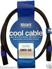 Blizzard Lighting Cool CableDMX-5Q 5' 3 pin DMX cable