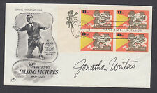 Jonathan Winters, American comedian, actor, author, signed Talking Pictures FDC