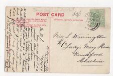 Miss L Warrington Lady Mary Home Knutsford 1909 166a