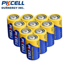 10 D Size Extra Heavy Duty R20P PC1300 UM-1 1.5V Carbon-zinc Battery PKCELL