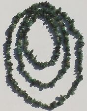 """Emerald Nugget Necklace. BNIB. 34"""". Can Be Worn As A Multi-strand Bracelet"""