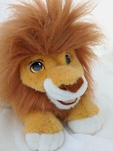 Lion King Simba Roaring Puppet Soft Plush Cuddly Toy Teddy Disney 1993