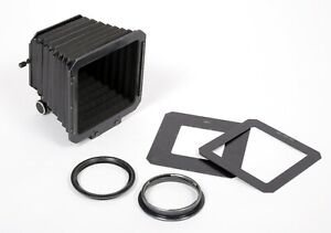 Hasselblad pro compendium lens shade with adapters