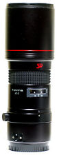 Tokina AT-X SD 400mm Close Focus Telephoto Lens Canon AF/EOS Digital and Film