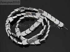 Natural Metallic Colors Hematite Gemstone 6x8mm V Shape Arrowheaded Beads 15.5''