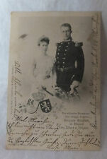 AK Brautpaar Herzogin Elisabeth v.Bayern u. Prinz Albert v.Belgien