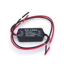 GS-100A 12V Flash Strobe Controller Box Flasher Module LED Brake Tail Stop Light