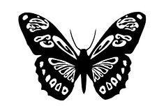 Butterfly vinyl car Decal / Sticker