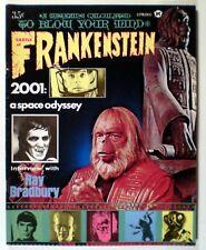 Castle Of Frankenstein # 13 (1969) Dark Shadows; 2001: Space Odyssey; PotA; Vg