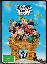 DVD Rugrats in Paris The Movie 2000 Animated Nickelodeon Bonus Features R4 BNS