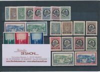 1945 Vatican, Stamps New, Year Complete 23 Val MNH