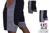 Gift Mens Basketball Gym Fitness Workout Athletic Shorts 2 Pockets M-XL Quic Dri
