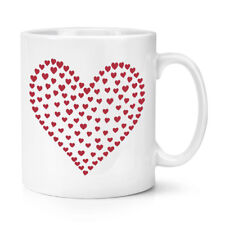 HEART OF HEARTS 10OZ MUG CUP - Red Pattern Love Girlfriend Valentine's Day