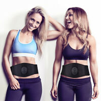 EMS Abdominal ABS Fit Muscle Stimulater Toner Training Gear Fitness Workout Belt