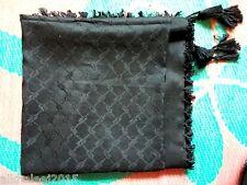 Good Quality Royal Arabian Black Scarf Shemagh Yashmagh Keffiyeh Free Shipping