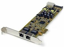 Startech.com ST2000PEXPSE 2port Pci Express Gigabit Cabl Server Network Adapter